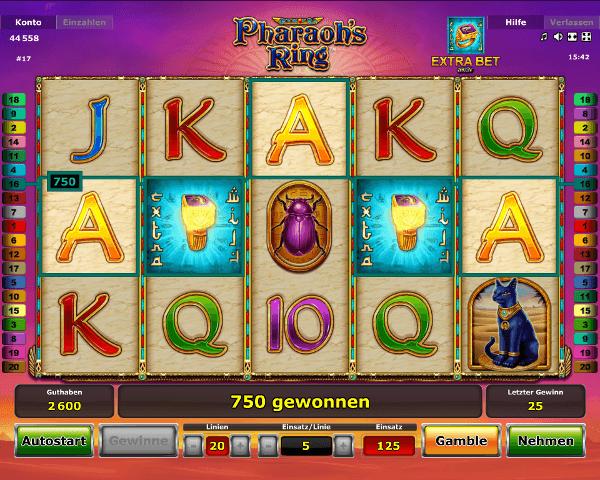 Novoline_Pharao's_Ring_Spielautomat